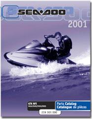 2001 SeaDoo GTX RFI Parts Catalog