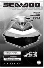 2002 SeaDoo CALIFORNIA GTI, GTI LE