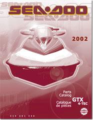 2002 SeaDoo GTX 4-TEC Parts Catalog- FREE PDF Download!