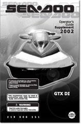 2002 SeaDoo GTX DI