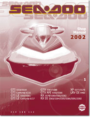 2002 seadoo gtx di gtx 4 tec shop manual free pdf download rh seadoomanuals net 2002 Sea-Doo GTX Display 2002 Sea-Doo GTX