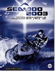 2003 SeaDoo GTI LE