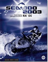 2003 SeaDoo RX DI