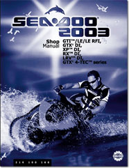 2003 seadoo owners manual open source user manual u2022 rh dramatic varieties com Ski Doo Speedster 2004 Sea-Doo Sportster