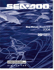 2004 SeaDoo 3D RFI Shop Manual