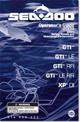 2004 SeaDoo GTI, GTI LE, GTI RFI, GTI LE RFI, XP DI