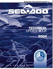 2004 SeaDoo Technical Update Book
