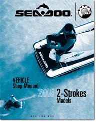 2005 SeaDoo 2 Stroke 3D, GTI, GTI RFI,GTI RFI LE Shop Manual