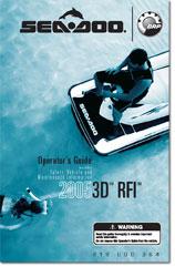 2005 SeaDoo 3D RFI
