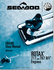 2005 SeaDoo ROTAX 717/787 RFI Engine Shop Manual