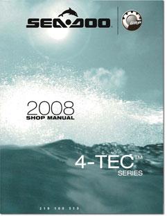 2008 seadoo 4 tec gti gti se rxp rxt rxt x wake shop manual rh seadoomanuals net Sea-Doo RXT 215 2009 Sea-Doo GTX 215