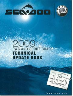2009 SeaDoo Technical Update Book